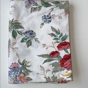 Ralph Lauren Twin Flat Sheet in Allison Pattern